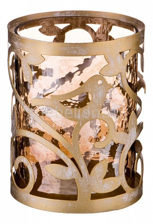 Подсвечник декоративный АРТИ-М (13x13x16.5 см) Art-730-225 стакан с подстаканником арти м 9 мая 225 мл хрусталь