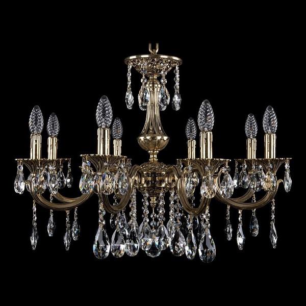 Подвесная люстра 1702/8/250/A/GB Bohemia Ivele Crystal 1702/8/A/GB  (BI_1702_8_A_GB), Чехия