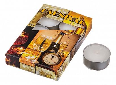Набор из 6 свечей ароматических (4x2 см) Карнавал 348-475