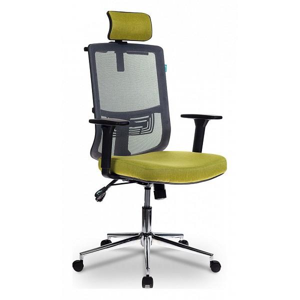 Кресло для руководителя MC-612-H/DG/GREEN Бюрократ BUR_1070914