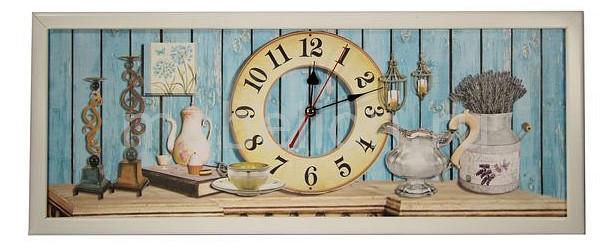 Настенные часы Акита (60х30 см) AKI 3060-13W цена и фото