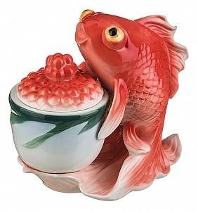 Икорница (15х8х14 см) Золотая рыбка 58-1006