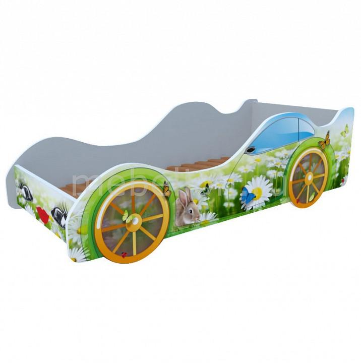 Кровать-машина Ромашки M019