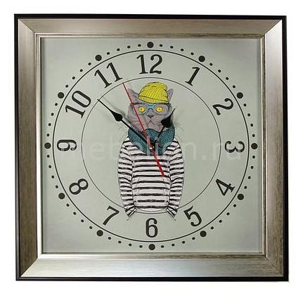 Настенные часы Акита (33.5х33.5 см) Кот 3434-1-1 1 1 9l