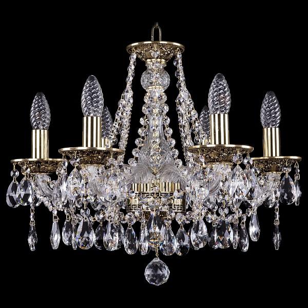 Подвесная люстра 1613/6/165/GB Bohemia Ivele Crystal  (BI_1613_6_165_GB), Чехия