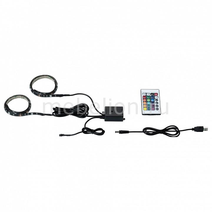 Купить Комплект с лентой светодиодной [2x50 см] USB-Stripe 70706, Paulmann, черный, металл, полимер
