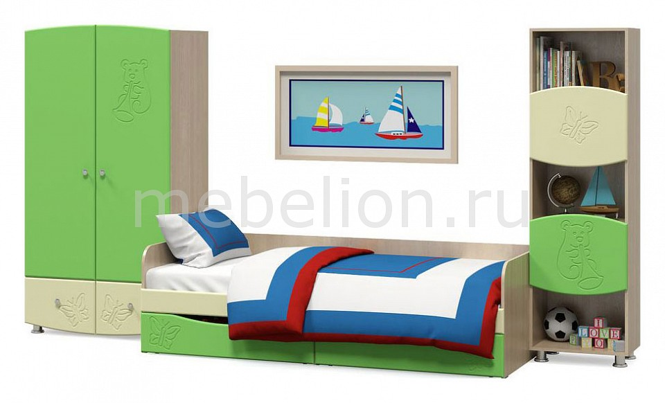 Комод детский Компасс-мебель KOM_Kapitoshka_system_6 от Mebelion.ru