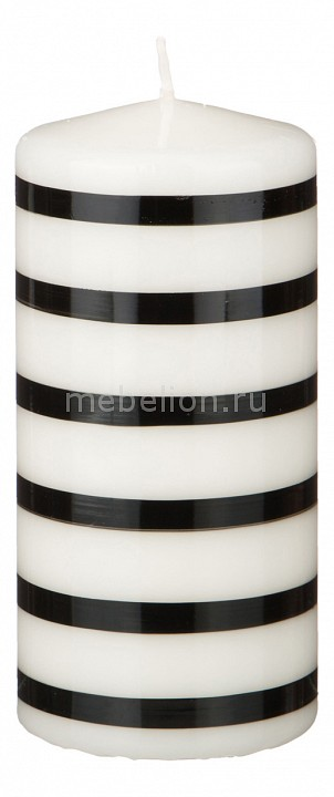 Свеча декоративная АРТИ-М (7x15 см) Black & white 348-566 кик байконур 7x15 6x139 7 d110 1 et 5 almaz black