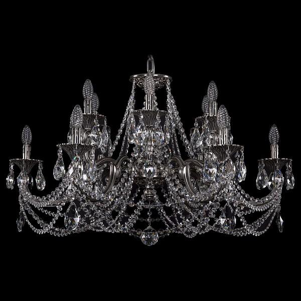 Подвесная люстра 1702/6+6/300+150/C/NB Bohemia Ivele Crystal 1702/6+6/335+150/C/NB  (BI_1702_6_6_335_150_C_NB), Чехия