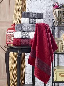 Набор из 3 банных полотенец Cotton Barok