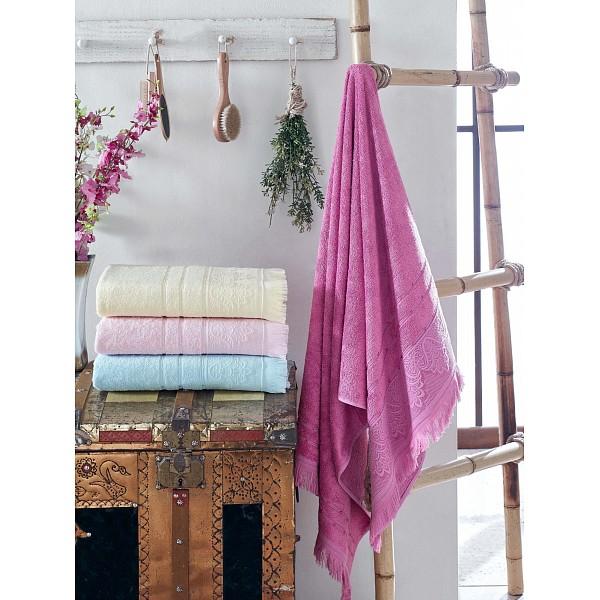 Набор из 4 полотенец для лица (50x90 см) Lavender DO&CO MTH_9909