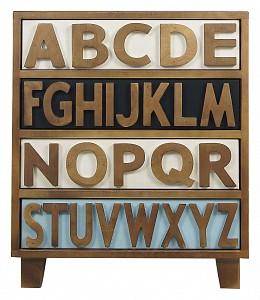 Комод из массива дерева Alphabeto Birch ETK_2473