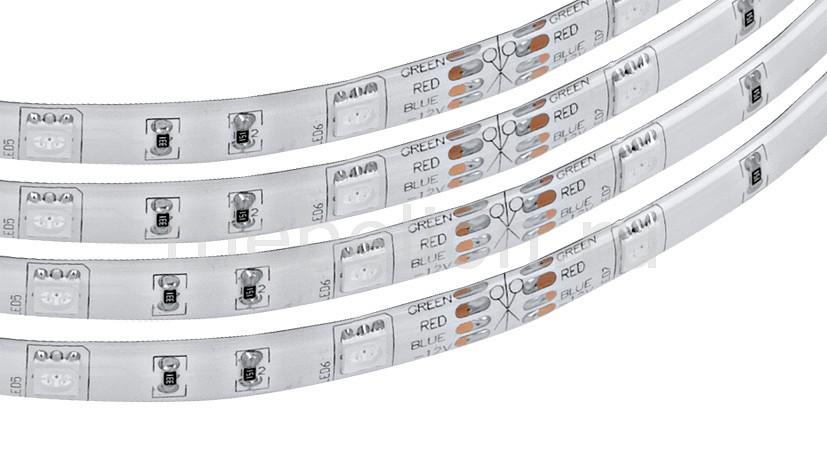 Комплект с лентой светодиодной Eglo (5 м) Led Stripes-Flex 92066 h3 led белый dc 12v день вождения 7 5 вт super car противотуманные фары лампочки авто