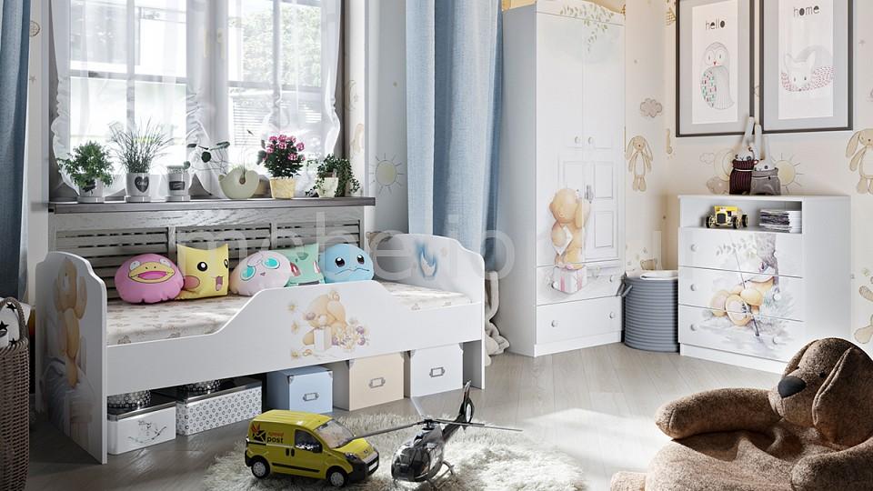 Комод детский ТРИЯ TRI_Teddy_system_2 от Mebelion.ru