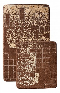 Набор из 2 ковриков для ванной Vintage