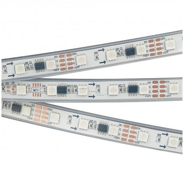 Лента светодиодная [5 м] SPI-5000PGS-5060-60 12V Cx3 RGB-Auto (12mm, 13.2W/m, IP67) 029445 ARLT_029445