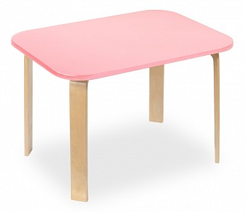 Стол Мордочки розовый