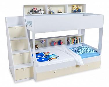 Двухъярусная кровать размером 190х90 Golden Kids 10 FSN_4S-GK_10-KB-FBZH