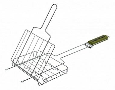 Решетка-гриль (55х21х2.5 см) Boyscout 61307