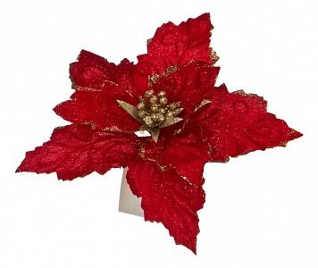 Цветок (22 см) Пуансетия 241-1804
