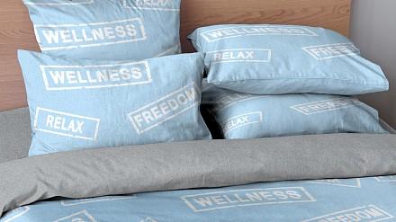 Комплект полутораспальный Blue