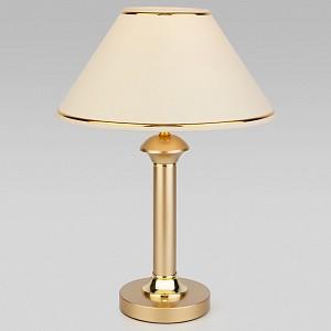 Настольная лампа декоративная Lorenzo 60019/1 перламутровое золото