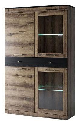 Шкаф-витрина Jagger 2V2D1S
