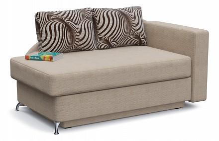 Прямой диван-кушетка Вика Выкатной