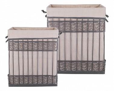 Набор из 2 корзин (42x31x49 см) 190-214