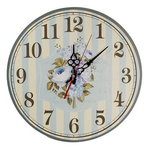 Настенные часы Акита (40 см) Пионы C40-16 цена и фото