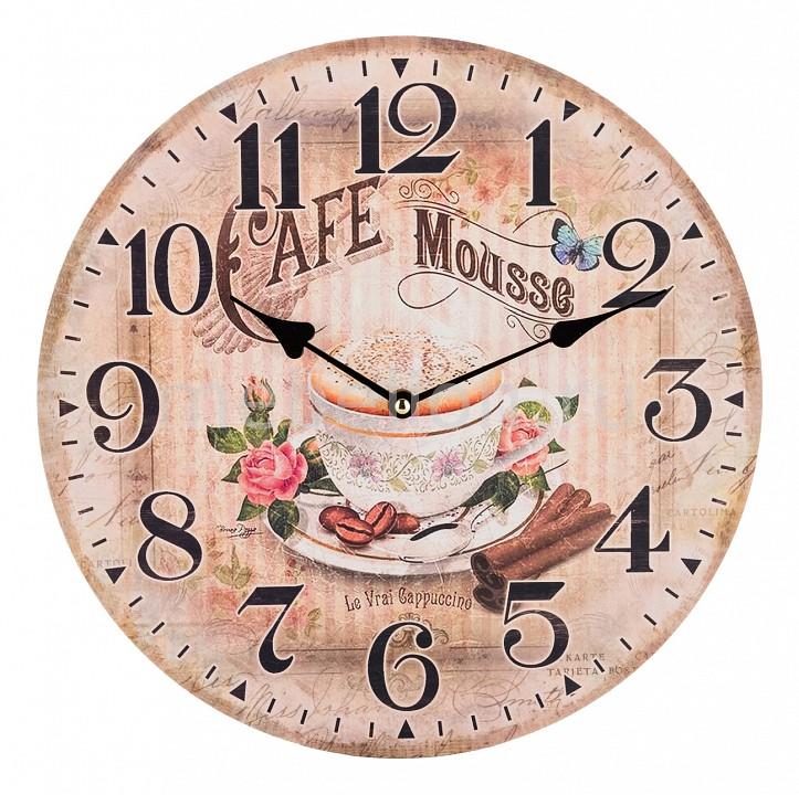 Настенные часы АРТИ-М (34 см) Кофе с корицей 799-150 арти м 21х40 см 799 045