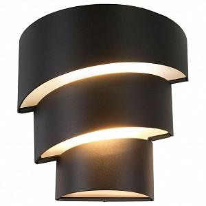 Накладной светильник 1535 TECHNO LED HELIX черный