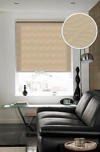Рулонная штора Дарси 210x160 см., цвет коричневый