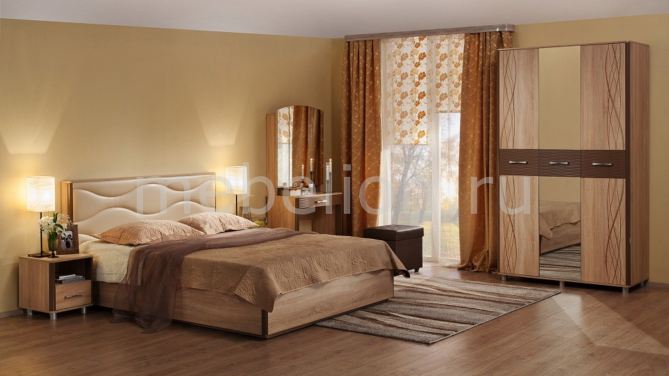 Гарнитур для спальни Ривьера