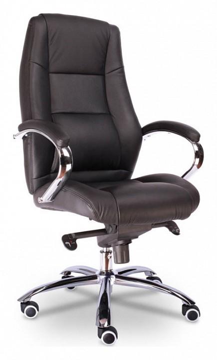Кресло для руководителя Kron M EC-366 Leather Black