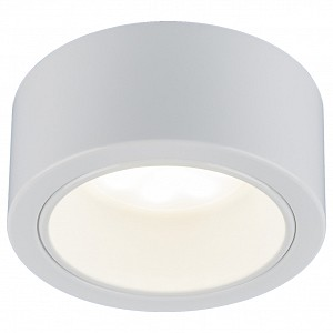 Встраиваемый светильник 1070 GX53 WH белый