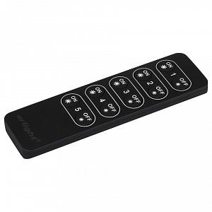 Пульт-диммер кнопочный SR-2833K5 Black (диммер 5 зон)