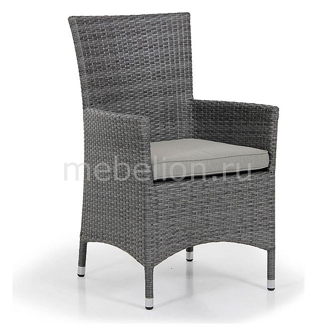 Кресло Brafab Ninja 3561-73 серое стол обеденный brafab ninja 3616 73