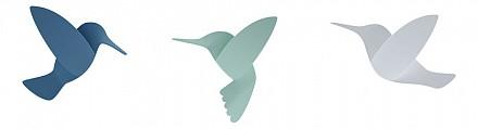 Набор из 9 фигур настенных (12.7x2.6x9.9 см) Hummingbird 1012966-022