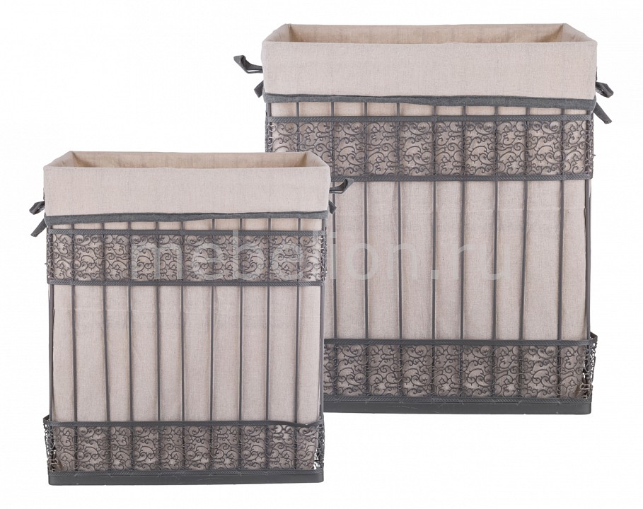 Набор корзин АРТИ-М Набор из 2 корзин (42x31x49 см) 190-214 набор из 2 грибных корзин природный интерьер k 2224 s 2