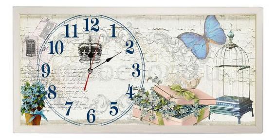 Настенные часы Акита (60х30 см) AKI 3060-10W цена и фото