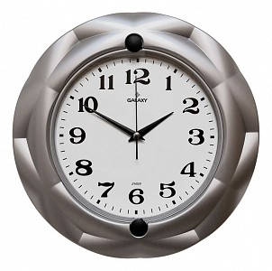 Настенные часы (29см) Galaxy 603 Gray
