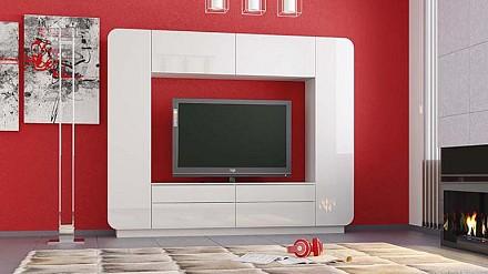 Мебельная стенка среднего размера Лаванда - 2 TRM_P00112059