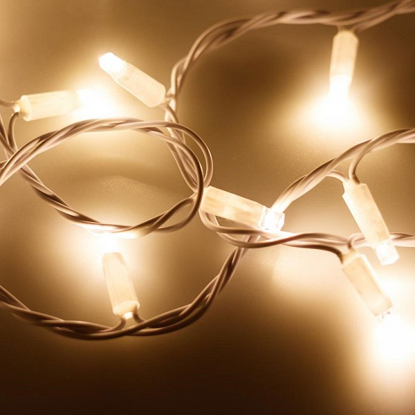 Гирлянда нить [10 м] String ARD-STRING-CLASSIC-10000-WHITE-100LED-STD WARM (230V, 7W)