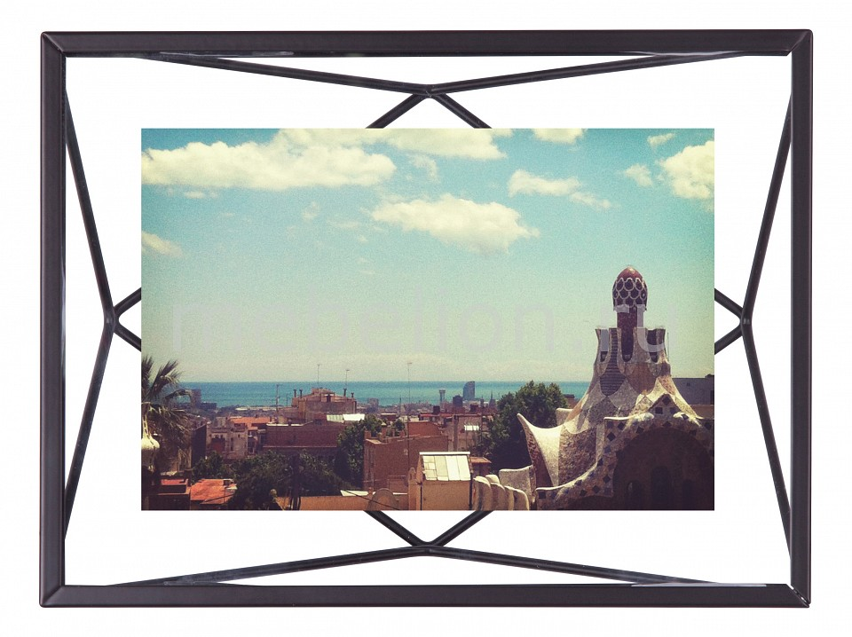 Фоторамка настольная Umbra (20.3х15.2 см) Prisma 313016-040 umbra зеркало декоративное prisma