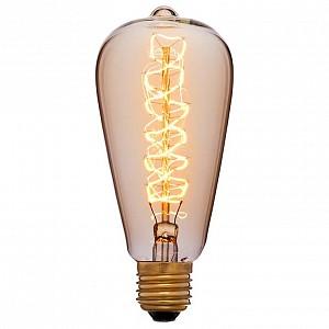 Лампа накаливания ST64 E27 240В 60Вт 2200K 052-269