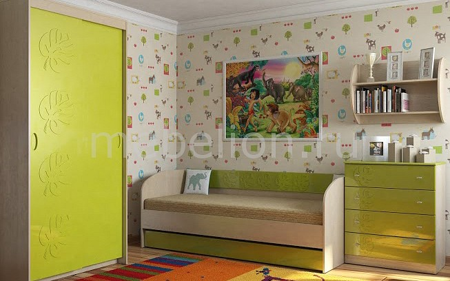 Комод детский Компасс-мебель KOM_Maugli_system_7 от Mebelion.ru