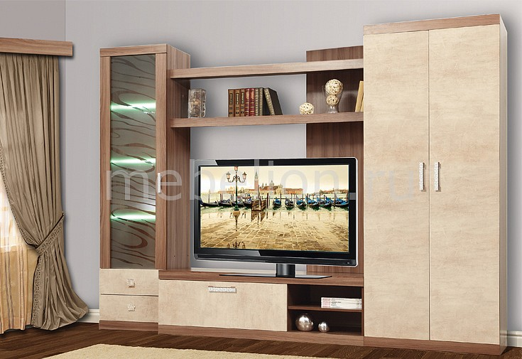 Гостиная Олимп-мебель TRM_Bravo-2_2 от Mebelion.ru