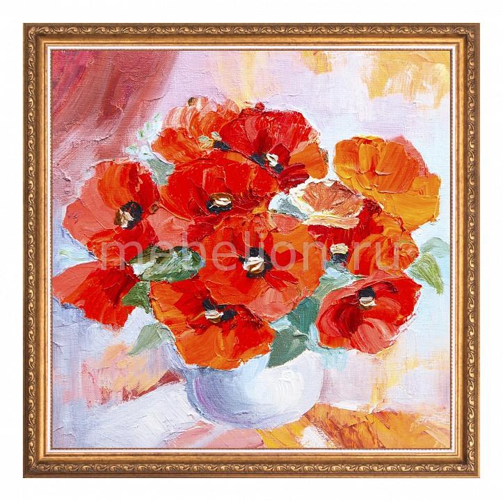 Панно Ekoramka (50х50 см) Цветы 1721183