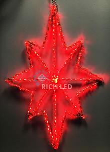 Снежинка световая (0.4 м) RL-ST60-R